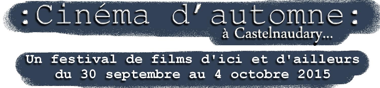 Cinéma d'automne à Castelnaudary